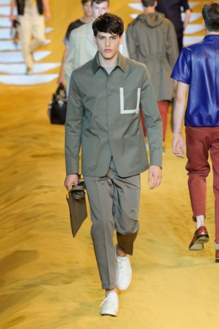 FENDI SPRING SUMMER 2014 MENSWEAR COLLECTION (2)