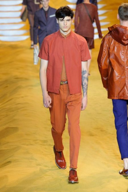 FENDI SPRING SUMMER 2014 MENSWEAR COLLECTION (26)