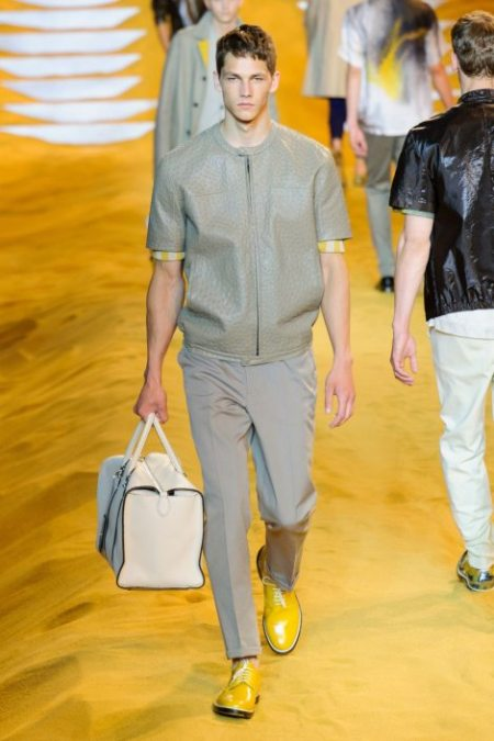 FENDI SPRING SUMMER 2014 MENSWEAR COLLECTION (7)