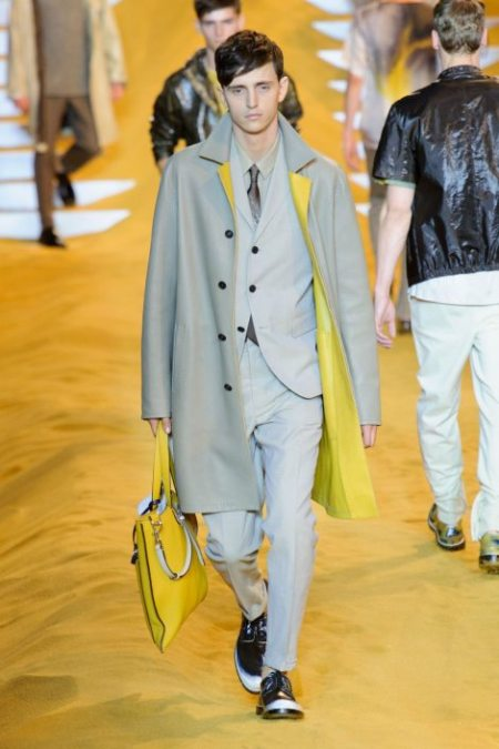 FENDI SPRING SUMMER 2014 MENSWEAR COLLECTION (8)