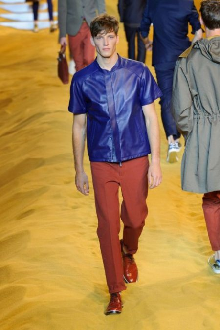 FENDI SPRING SUMMER 2014 MENSWEAR COLLECTION