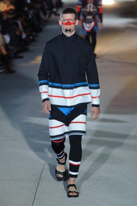 GIVENCHY SPRING SUMMER 2014 MENSWEAR (12)