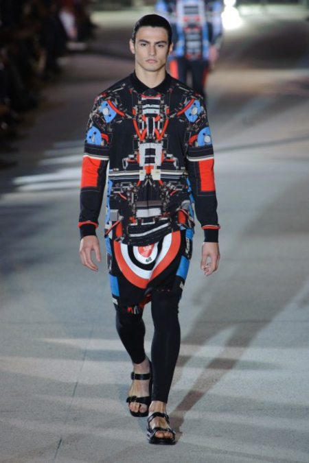 GIVENCHY SPRING SUMMER 2014 MENSWEAR (13)