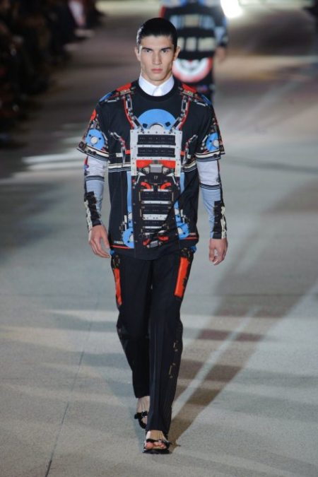 GIVENCHY SPRING SUMMER 2014 MENSWEAR (14)