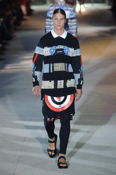 GIVENCHY SPRING SUMMER 2014 MENSWEAR (15)