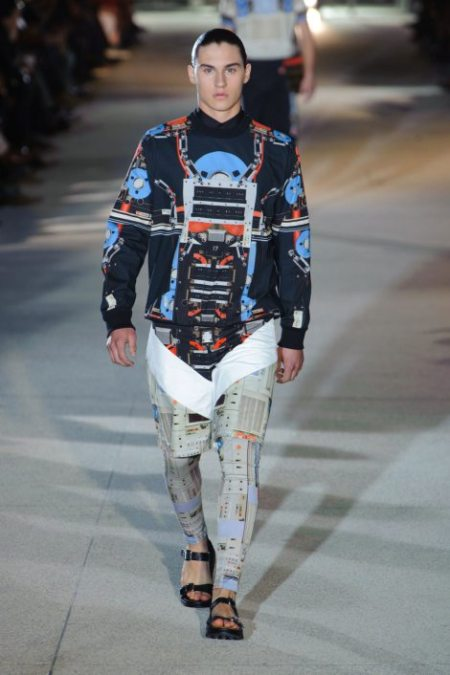 GIVENCHY SPRING SUMMER 2014 MENSWEAR (20)