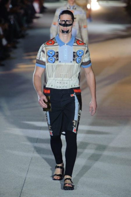 GIVENCHY SPRING SUMMER 2014 MENSWEAR (21)