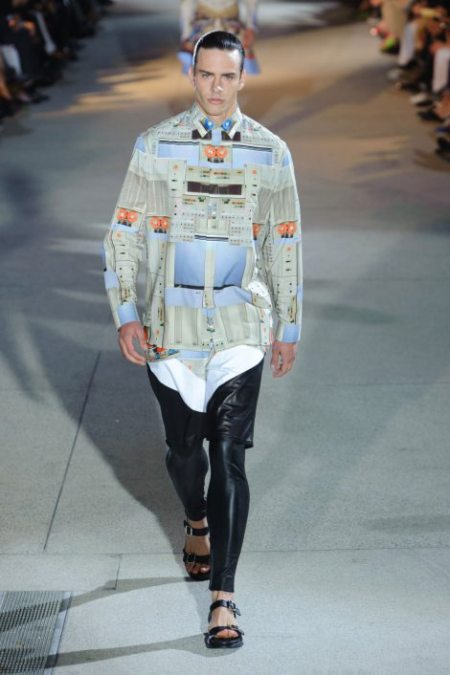 GIVENCHY SPRING SUMMER 2014 MENSWEAR (23)
