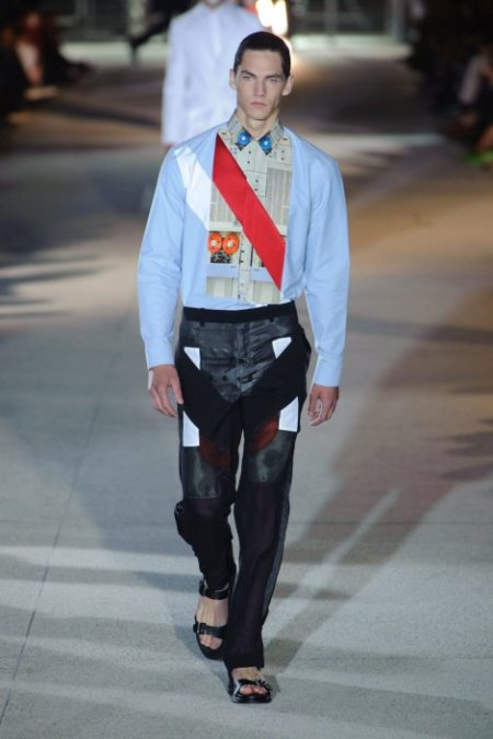 GIVENCHY SPRING SUMMER 2014 MENSWEAR (26)