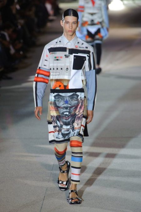 GIVENCHY SPRING SUMMER 2014 MENSWEAR (3)