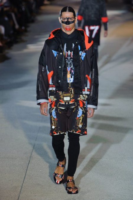 GIVENCHY SPRING SUMMER 2014 MENSWEAR (30)