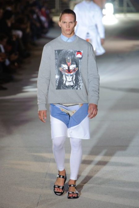 GIVENCHY SPRING SUMMER 2014 MENSWEAR (53)