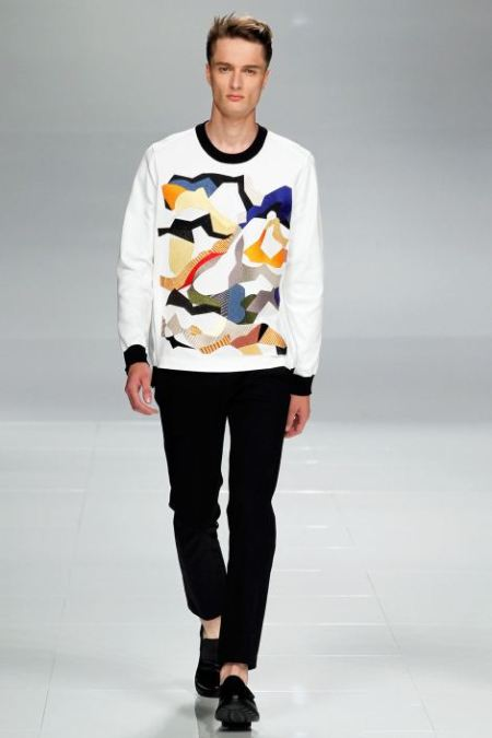ICEBERG SPRING SUMMER 2014 MENSWEAR COLLECTION (17)