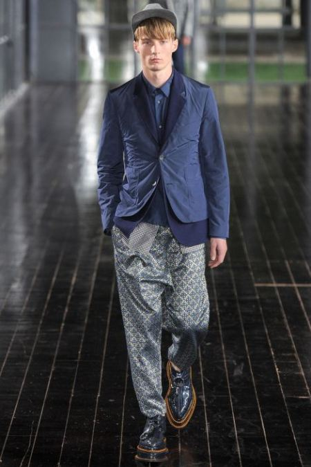 JOHN GALLIANO SPRING SUMMER 2014 MESNWEAR COLLECTION (16)