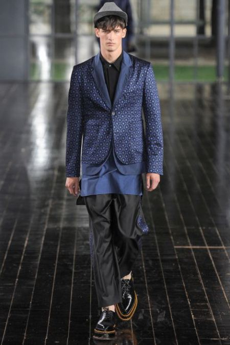 JOHN GALLIANO SPRING SUMMER 2014 MESNWEAR COLLECTION (23)