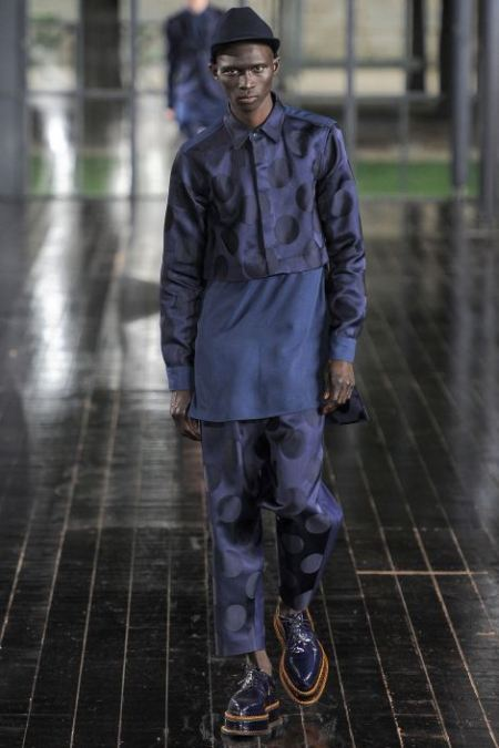 JOHN GALLIANO SPRING SUMMER 2014 MESNWEAR COLLECTION (29)