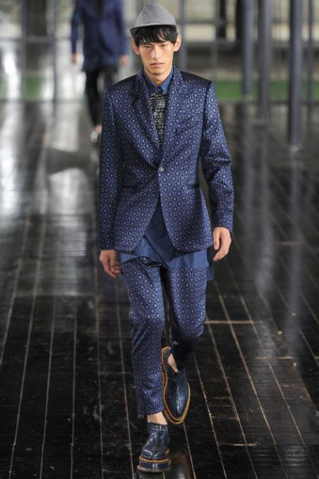 JOHN GALLIANO SPRING SUMMER 2014 MESNWEAR COLLECTION (7)