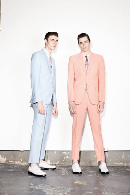 MARC JACOBS SPRING SUMMER 2014 MENSWEAR COLLECTION