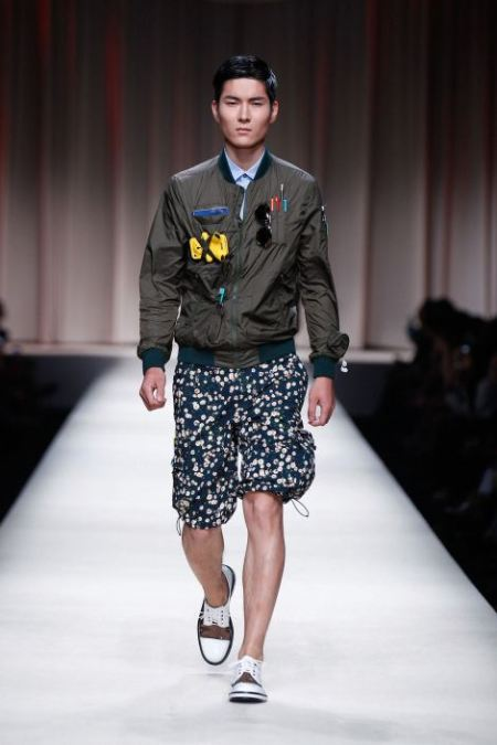 MOSCHINO SPRING SUMMER 2014 MENSWEAR COLLECTION (10)
