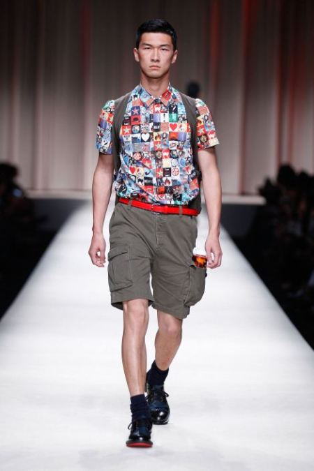 MOSCHINO SPRING SUMMER 2014 MENSWEAR COLLECTION (13)