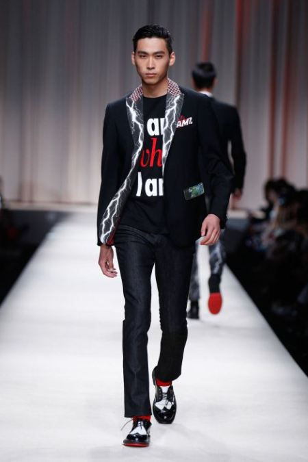 MOSCHINO SPRING SUMMER 2014 MENSWEAR COLLECTION (22)