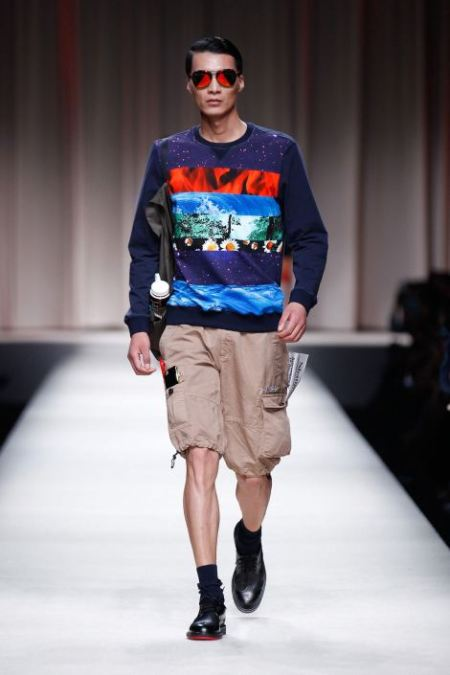 MOSCHINO SPRING SUMMER 2014 MENSWEAR COLLECTION (4)