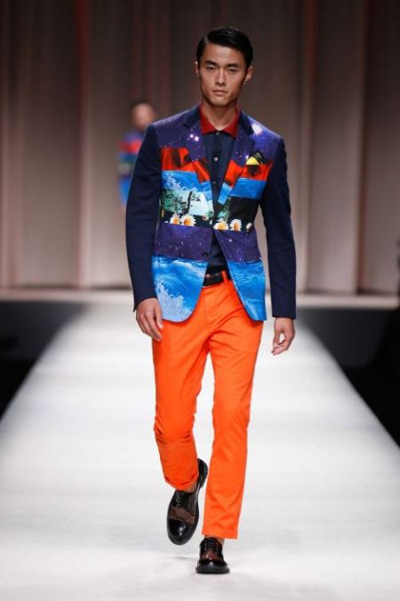 MOSCHINO SPRING SUMMER 2014 MENSWEAR COLLECTION