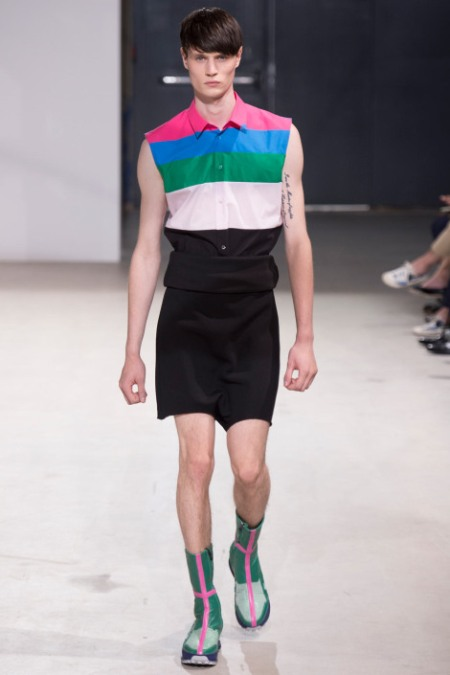 RAF SIMONS SPRING SUMMER 2014 MESNWEAR COLLECTION (37)