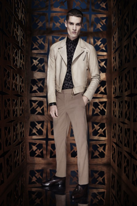 ROBERTO CAVALLI SPRING SUMMER 2014 MENSWEAR COLLECTION