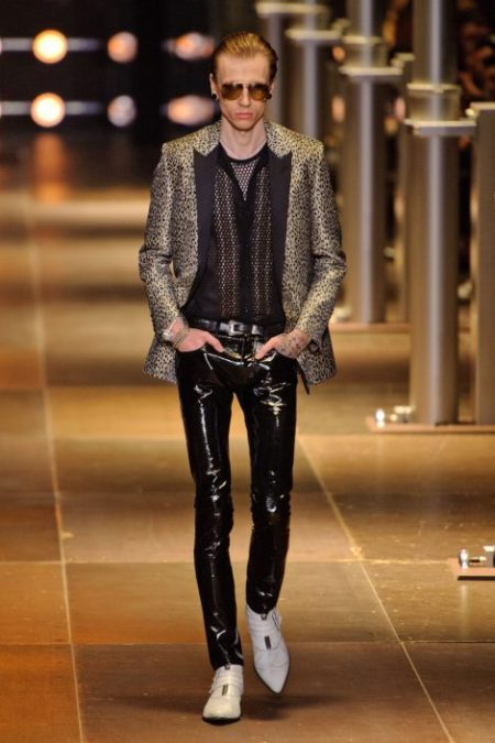 SAINT LAURENT SPRING SUMMER 2014 MENSWEAR (1)
