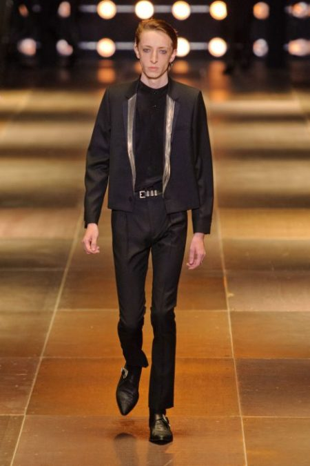 SAINT LAURENT SPRING SUMMER 2014 MENSWEAR (10)