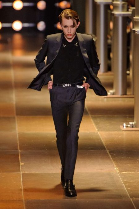 SAINT LAURENT SPRING SUMMER 2014 MENSWEAR (15)