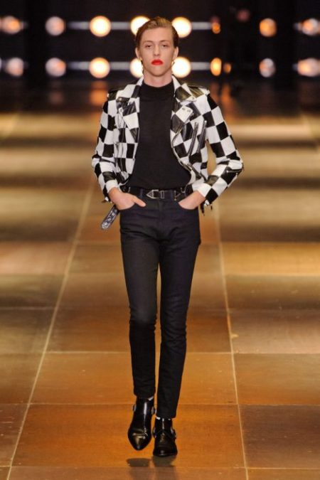SAINT LAURENT SPRING SUMMER 2014 MENSWEAR (22)