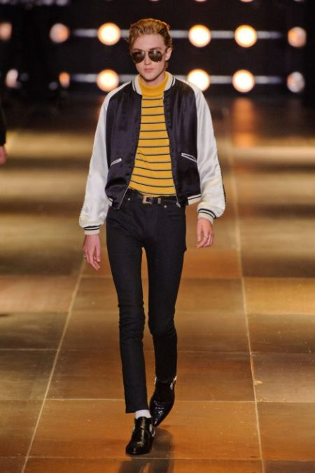 SAINT LAURENT SPRING SUMMER 2014 MENSWEAR (24)