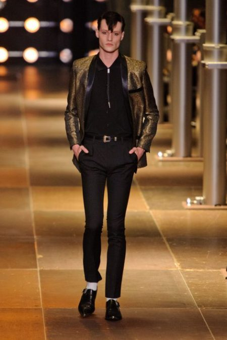 SAINT LAURENT SPRING SUMMER 2014 MENSWEAR (25)