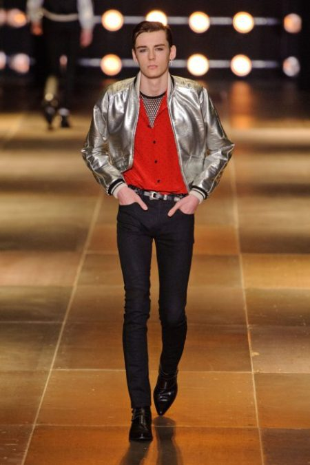 SAINT LAURENT SPRING SUMMER 2014 MENSWEAR (26)