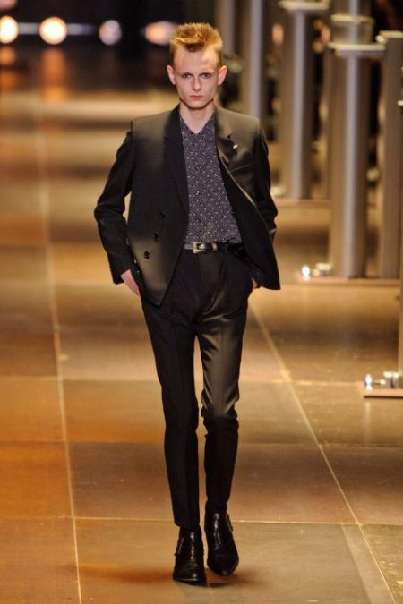 SAINT LAURENT SPRING SUMMER 2014 MENSWEAR (27)