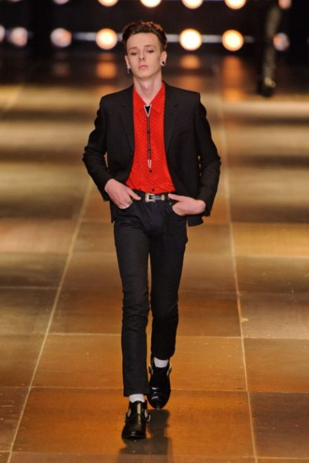 SAINT LAURENT SPRING SUMMER 2014 MENSWEAR (28)