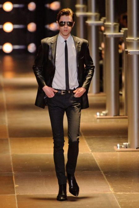 SAINT LAURENT SPRING SUMMER 2014 MENSWEAR (31)