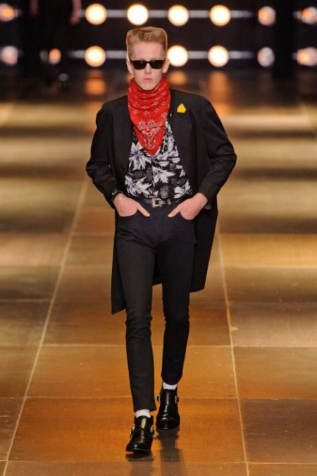 SAINT LAURENT SPRING SUMMER 2014 MENSWEAR (34)