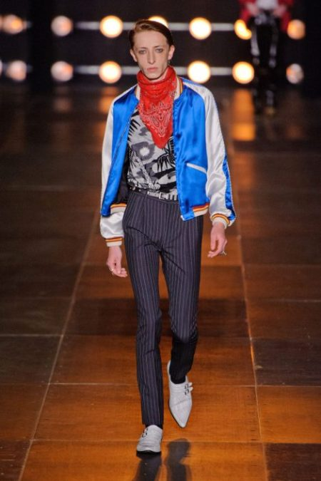 SAINT LAURENT SPRING SUMMER 2014 MENSWEAR (40)