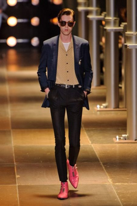 SAINT LAURENT SPRING SUMMER 2014 MENSWEAR (5)