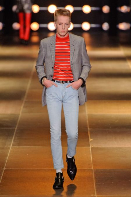 SAINT LAURENT SPRING SUMMER 2014 MENSWEAR (6)