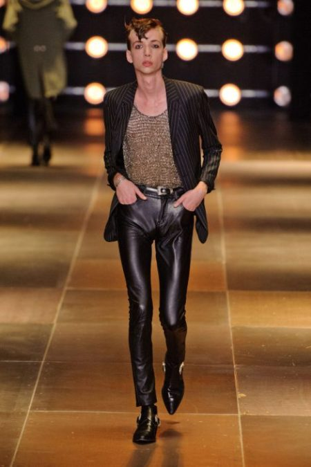 SAINT LAURENT SPRING SUMMER 2014 MENSWEAR (8)