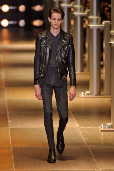 SAINT LAURENT SPRING SUMMER 2014 MENSWEAR (9)