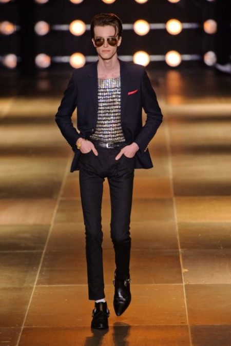 SAINT LAURENT SPRING SUMMER 2014 MENSWEAR