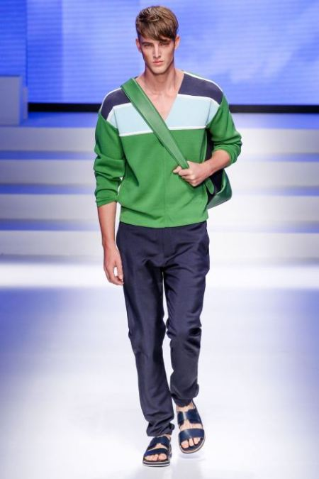 SALVATORE FERRAGAMO SPRING SUMMER 2014 MENSWEAR COLLECTION (8)