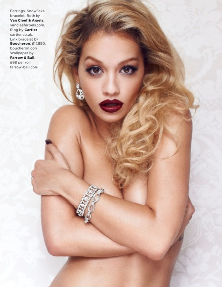 GQ MAGAZINE AUGUST 2013 RITA ORA (3)