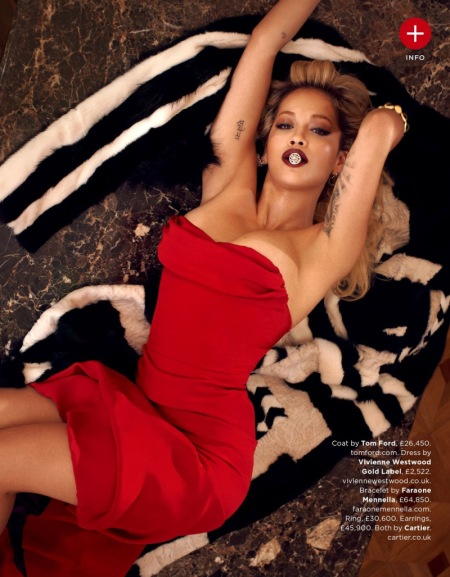 GQ MAGAZINE AUGUST 2013 RITA ORA (6)