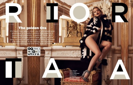 GQ MAGAZINE AUGUST 2013 RITA ORA